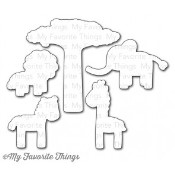 DIE-NAMICS WILD THINGS Die Set Miss Tiina Collection from My Favorite Things MFT Stamps