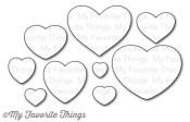 New! DIE-NAMICS ALL MY LOVE DIE SET from My Favorite Things MFT Stamps