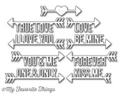 DIE-NAMICS STRAIGHT TO MY HEART from My Favorite Things MFT Stamps