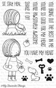 **PREORDER** YOU HAVE MY HEART Clear Stamp Set Birdie Brown Designs from My Favorite Things MFT Stamps