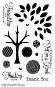 OUT ON A LIMB Clear Stamp Set Lisa Johnson Designs from My Favorite Things MFT Stamps