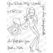 Retiring YOU ARE UNREPEATABLE Clear Stamp Set A La Modes Collection from My Favorite Things MFT Stamps