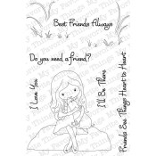 BEST FRIENDS ALWAYS Clear Stamp Set Jolinne Collection from My Favorite Things MFT Stamps