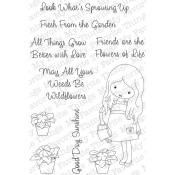 IN MY GARDEN Clear Stamp Set Jolinne Collection from My Favorite Things MFT Stamps