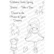 SWEET SPRING Clear Stamp Set Jolinne Collection from My Favorite Things MFT Stamps