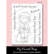 LITTLE SANTA Clear Stamp Set Pure Innocence Collection from My Favorite Things