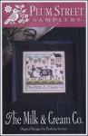 THE MILK & CREAM CO Cross Stitch Pattern by Plum Street Samplers