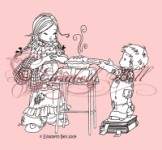 MMM! YES PLEASE Clear Stamp Elisabeth Bell Designs from Belles 'n Whistles