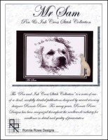 MR SAM Cross Stitch Pattern by Ronnie Rowe Designs