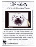 MR SHELBY Cross Stitch Pattern by Ronnie Rowe Designs