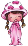 MUSHROOM GIRL Swiss Pixies Collection from C.C. Designs