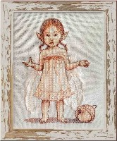 PLUME Cross Stitch Pattern from Nimue Fee Main