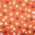 ORANGE BANG Pretty Poppies 12 x 12 Scrapbook Paper from Autumn Leaves