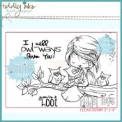 OWLWAYS LOVE YOU Clear Stamp Set from Tiddly Inks