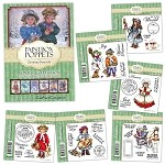 PAINTBOX POPPETS WINTER COLLECTION EXCLUSIVE STAMPS BUNDLE with CD-ROM from Crafter's Companion