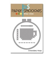 EMBROIDERY HOOP DIE SET Paper Smooches Wise Dies from Paper Smooches