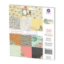 COFFEE BREAK 6x6 Scrapbook Patterned Paper Pad Coffee Break Collection from Prima Marketing