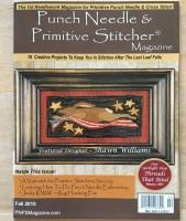 Punch Needle & Primitive Stitcher Magazine - FALL 2015 - Issue