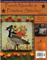 Punch Needle & Primitive Stitcher Magazine - FALL 2017 - Issue
