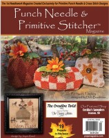 Punch Needle & Primitive Stitcher Magazine - FALL 2019 - Issue