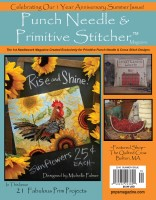 Punch Needle & Primitive Stitcher Magazine - SUMMER 2016 - Issue