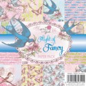 FLIGHT OF FANCY 6x6 Scrapbook Patterned Paper Pack from Wild Rose Studio