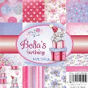BELLA'S BIRTHDAY 6x6 Scrapbook Patterned Paper Pack from Wild Rose Studio