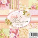 PEACH BLOSSOM 6x6 Scrapbook Patterned Paper Pack from Wild Rose Studio