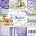 BLUEBELL 6x6 Scrapbook Patterned Paper Pack from Wild Rose Studio