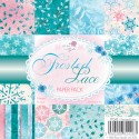 New! FROSTED LACE 6x6 Scrapbook Patterned Paper Pack from Wild Rose Studio