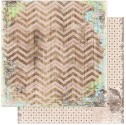 PRAIRIE CHIC CHEVRON 12x12 Scrapbook Paper Prairie Chic Collection from Bo Bunny