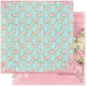 PRAIRIE CHIC WANDERLUST 12x12 Scrapbook Paper Prairie Chic Collection from Bo Bunny