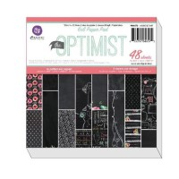 THE OPTIMIST 6x6 Paper Pack from Prima Marketing