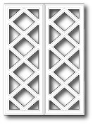 GRAND CHALET WINDOW Die from Poppystamps