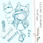 PURFECT BIRTHDAY FOR WRYN Clear Stamp Set from Tiddly Inks