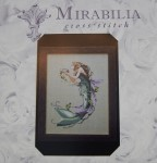 THE QUEEN MERMAID Cross Stitch Pattern by Nora Corbett from Mirabilia Designs