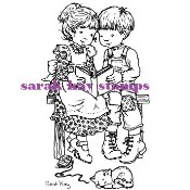 QUIET MOMENTS Clear Stamp Sarah Kay Collection from Stampavie