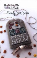READY, SET, SNOW Cross Stitch Pattern from Hands On Design