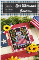 RED WHITE AND BANTAM Cross Stitch Chart from Stitching With The Housewives