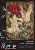 ROSE Stamp Set Sheena Douglass Paint Fushion Collection from Crafter's Companion