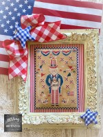 A Sip of the Seasons Series SAM AND LIBERTY Cross Stitch Chart from Stitching With The Housewives