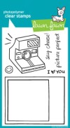 SAY CHEESE Clear Stamp Set from Lawn Fawn