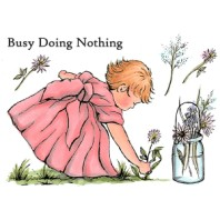 BUSY DOING NOTHING A Little Bit Sketchy Collection by Sheena Douglas