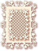 FLORAL FRAMES Specialty Craft Die from Wild Rose Studio