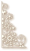 SNOWFLAKE CORNER Specialty Craft Die from Wild Rose Studio