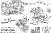 S'MORE FUN Clear Stamp Set from Flourishes