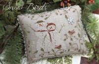 SNOW BIRDS Cross Stitch Pattern by With Thy Needle and Thread