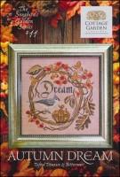 The Songbird's Garden Series - #11 AUTUMN DREAM Cross Stitch Pattern by Cottage Garden Samplings
