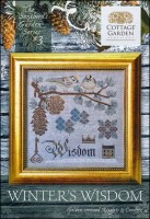 The Songbird's Garden Series - #3 WINTER WISDOM Cross Stitch Pattern by Cottage Garden Samplings