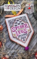 Scary Apothecary Series - SPIDER LEGS - Cross Stitch Pattern by Hands On Design